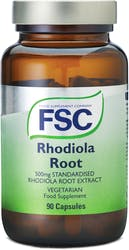 FSC Standardised Rhodiola Root Extract 500mg 90 Capsules