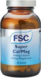 FSC Super Cal / Mag 90 Tablets