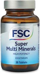FSC Super Multi Mineral 30 Tablets