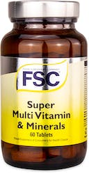 FSC Super MultiVitamins and Minerals 60 Tablets