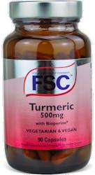 FSC Turmeric & Bioperine 90 Capsules