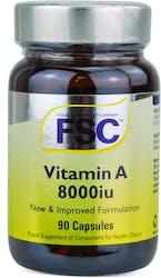 FSC Vitamin A 8000iu 90 Capsules