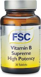 FSC Vitamin B Supreme High Potency 30 Tablets