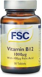 FSC  Vitamin B12 1000ug 90 Tablets
