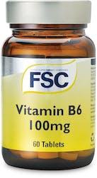 FSC Vitamin B6 100mg 60 Tablets