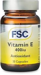 FSC Vitamin E (d-alpha-tocopherol) 400iu 30 Capsules