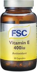 FSC Vitamin E( d-alpha-tocopherol) 400iu 90 Capsules