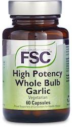 FSC Whole Bulb Garlic Vegetarian 60 Capsules