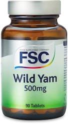FSC Wild Yam 500mg 90 Tablets