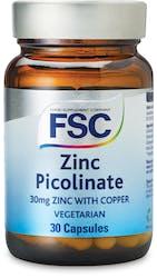 FSC Zinc Picolinate with Copper 30mg 30 Tablets