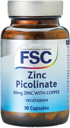 FSC Zinc Picolinate with Copper 30mg 90 Tablets