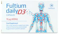 Fultium Daily D3 30 Capsules