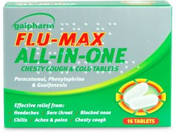 Galpharm Flu Max All in One Chesty Cough & Cold 16 tablets