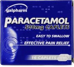 Galpharm Paracetamol 500mg 16 Caplets