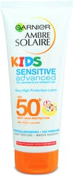 Garnier Ambre Solaire Kids Sensitive Sun Cream Lotion SPF50+ 200ml
