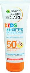 Garnier Ambre Solaire Kids Sensitive Sun Cream Lotion SPF50+ 200ml