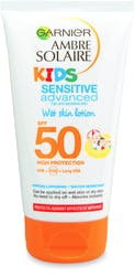 Garnier Ambre Solaire Kids Sensitive Wet Skin Sun Cream SPF50 150ml