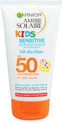 Garnier Ambre Solaire Kids Sensitive Wet Skin Sun Cream SPF50 150ml