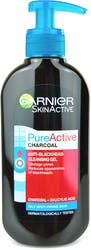 Garnier Pure Active Intensive Anti-Blackhead Charcoal Gel Wash 200ml
