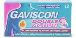 Gaviscon Double Action Mixed Berries 12 Pack