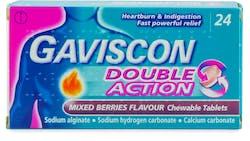 Gaviscon Double Action Mixed Berries 24s