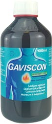 Gaviscon Original Peppermint 600ml