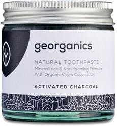 Georganics Mineral-rich Toothpaste Activated Charcoal 60ml