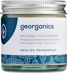 Georganics Mineral-rich Toothpaste English Peppermint 60ml