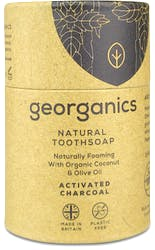 Georganics Natural Toothsoap Activated Charcoal 60ml