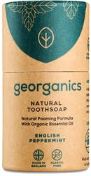 Georganics Natural Toothsoap English Peppermint 60ml