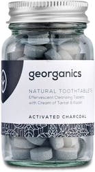 Georganics Toothpaste Tablets  Activated Charcoal 120tabs