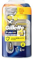 Gillette Fusion ProShield FlexBall Men's Razor Handle + 4 Blades