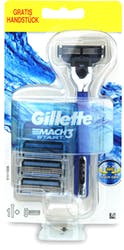 Gillette Mach 3 Shaving Razor & 4 Blades Set
