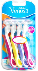 Gillette Venus3 Women's Disposable Razors 4 Pack