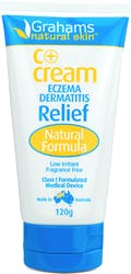 Grahams Natural C Eczema And Dermatitis Cream 120g