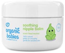 Green People Organic Babies Soothing Nipple Balm Scent Free 50ml
