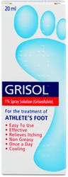 Grisol Athlete Foot Spray 20ml