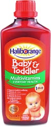 Haliborange Multivitamin Tasty Orange Liquid 1m+ 250ml