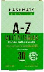 Hashmats Health A-Z Multivitamins 30 tablets