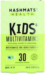 Hashmats Health Kids 4+ Multivitamins Mango 30 Chewable Tablets