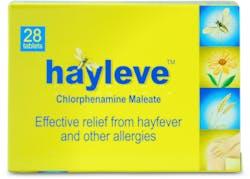 Hayleve Chlorphenamine Maleate 4mg 28 Tablets