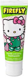 Hello Kitty Firefly Fluoride Anti-Cavity Toothpaste 75ml