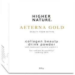 Higher Nature Aeterna Gold Collagen Drink 80g