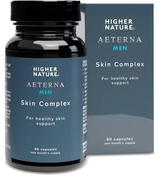 Higher Nature Aeterna Men Skin Complex 60 Capsules