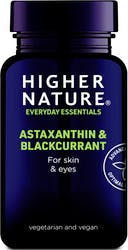 Higher Nature Astaxanthin & Blackcurrant 30 Capsules