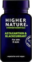 Higher Nature Astaxanthin & Blackcurrant 90 Capsules