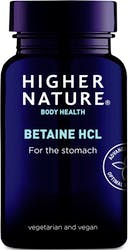 Higher Nature Betaine HCl 90 Capsules