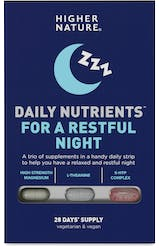 Higher Nature Daily Nutrients for a Restful Night 28 Strips