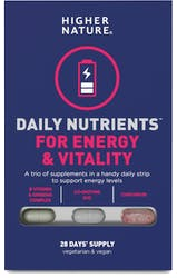 Higher Nature Daily Nutrients for Energy & Vitality 28 strips