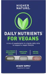 Higher Nature Daily Nutrients for Vegans 28 Capsules